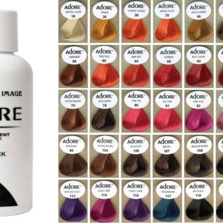 adore hair dye review