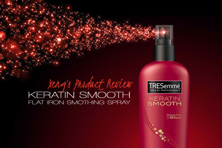 Tresemme Keratin Smooth Control Hair Straightener Review