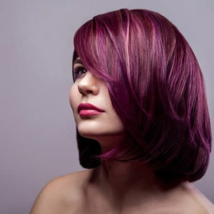 Water-Based Purple Hair Dye