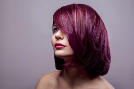 Water-Based Purple Hair Dye