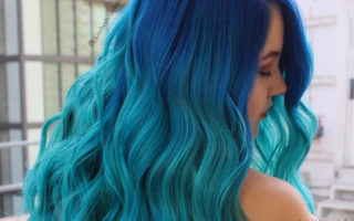 Aqua Blue Ombre Hair & Colour Freedom Review