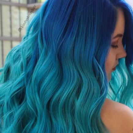 Aqua Blue Ombre Hair & Colour Freedom Review
