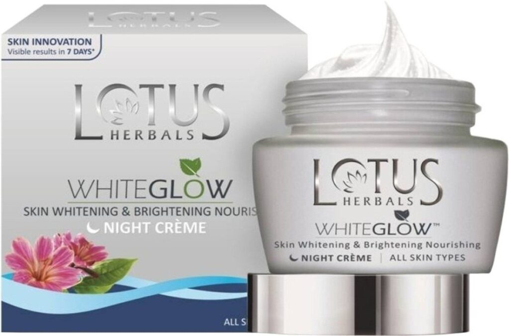 Lotus White glow Face Cream Review
