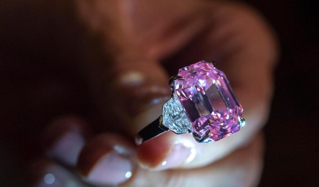 Worlds Most Expensive Pink Diamond Ring