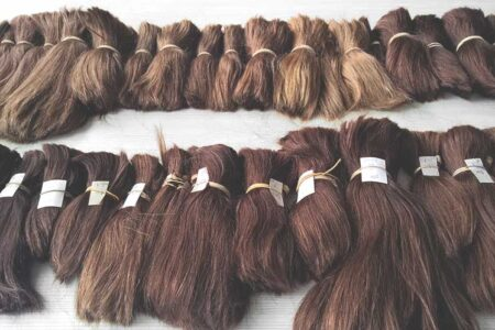 Image with lots of Different Types of Wigs and Hairpieces