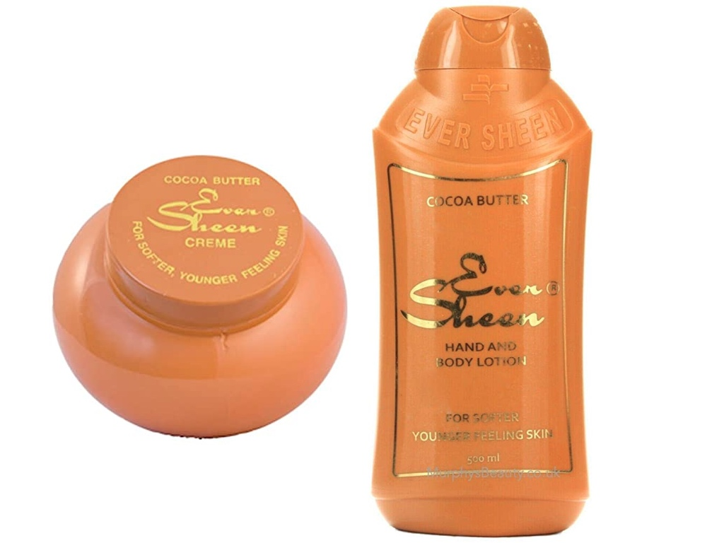Eversheen Cocoa Butter Lotion image with white background