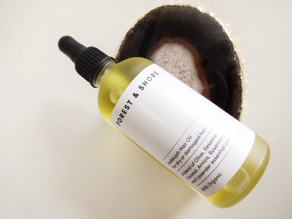 Forest and Shore Hallelujah Hair Oil