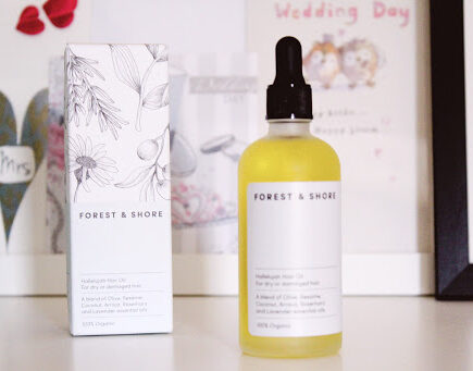 Forest and Shore Hallelujah Hair Oil REview