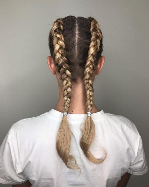 Easy hairstyles Sporty hairstyles Hairstyles for school