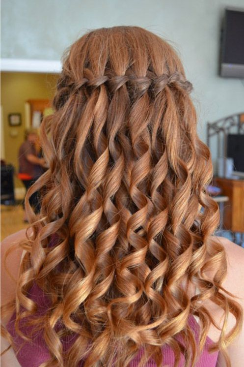 Quick and easy hairstyle for school