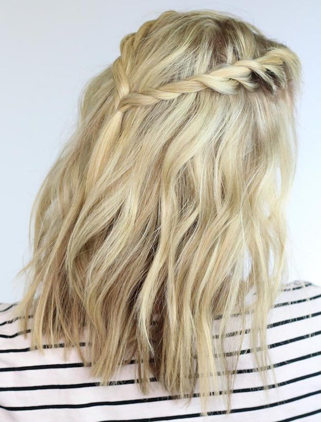 Twisted Braids Stylish Back to School Hairstyles for Short Hair