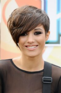 Hairstyle Pictures of Frankie Sandford