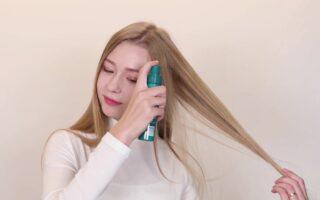 hair Spray Properly